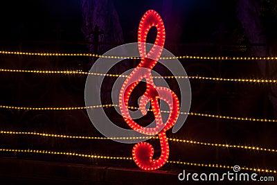 Decorative lighting in the Lantern Festival