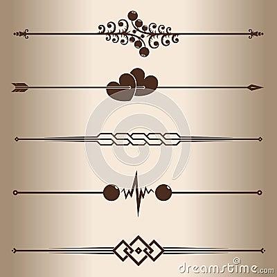 Free Decorative Lines Stock Image - 27646181