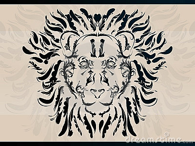 Decorative lion