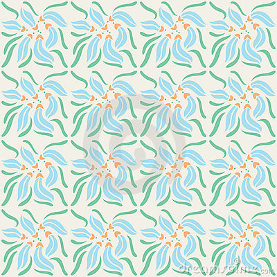 Decorative naturale seamless pattern