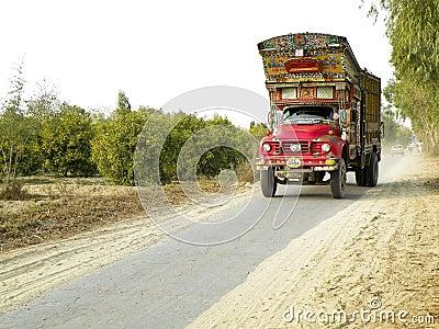 Decorative old truck