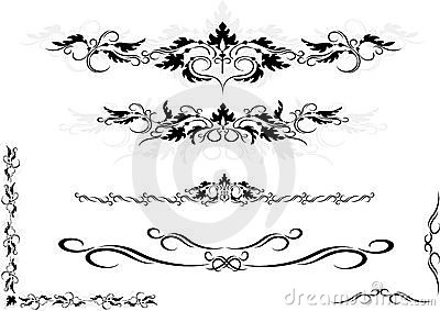 Decorative ornament frame ,corner.Graphic arts.