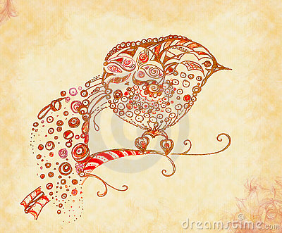 Decorative ornamental bird