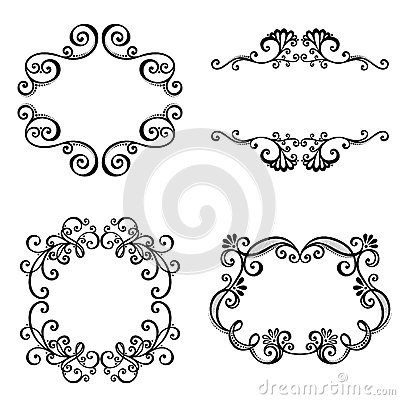 Decorative Ornamental Frame for Text.
