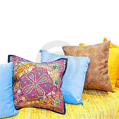 Free Decorative Pillows Stock Images - 8244144