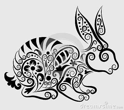 Decorative rabbit