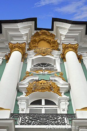 Decorative relief of Winter Palace, St.Petersburg