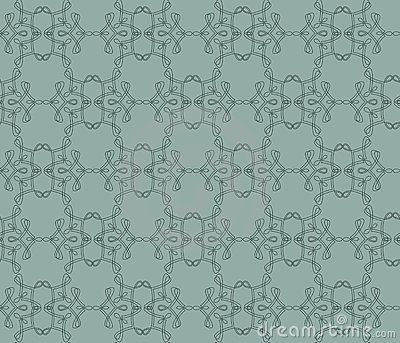 Decorative repeating pattern, vector