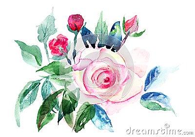 Decorative Roses flowers