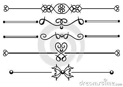 Decorative Rule lines