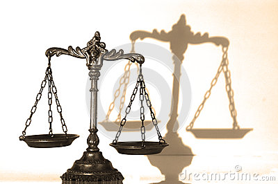 Decorative Scales of Justice