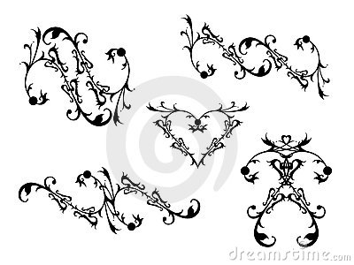 Decorative Scrolls