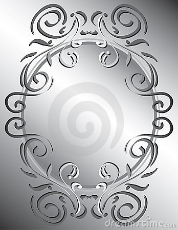 Decorative Scrollwork Frame