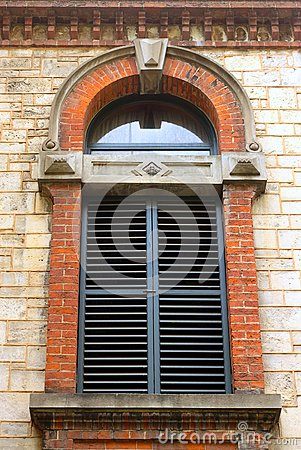 Decorative Shuttered External Window