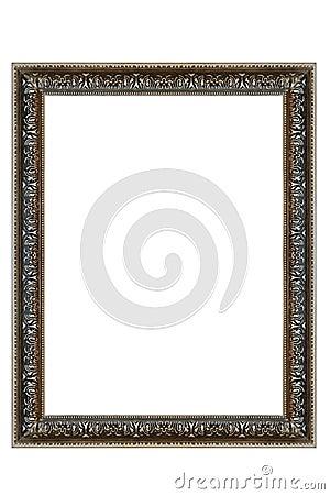 Decorative Silver Oval Frame