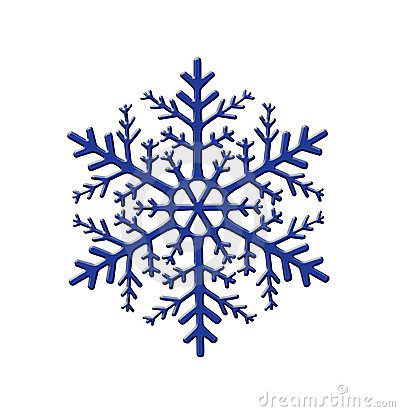 Snowflake Ornament, Modern Christmas Illustration Design, Vector.