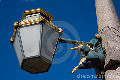 Decorative street lantern