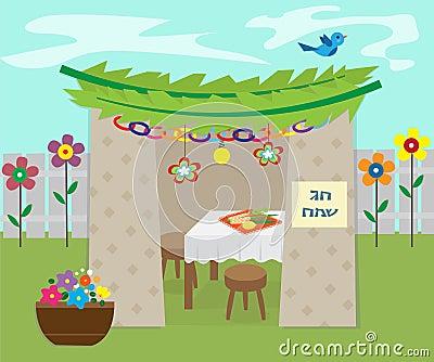 Decorative Sukkah