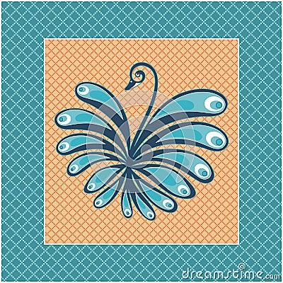 Decorative  swan