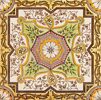 decorative tile stock photography image 56852 - Decorative Tile