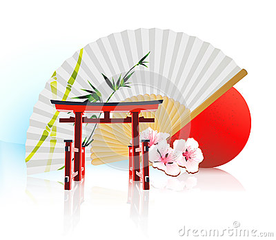 Decorative Traditional Japanese background