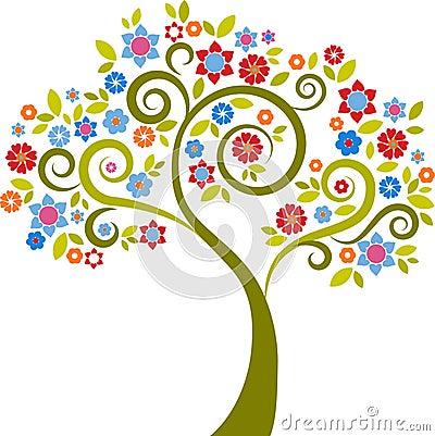 Free Decorative Tree - 2 Stock Photos - 14080123