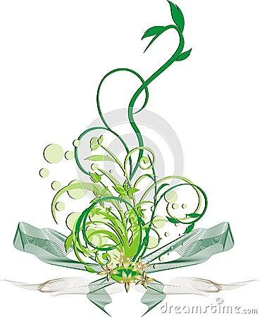 Decorative twigs. Bouquet