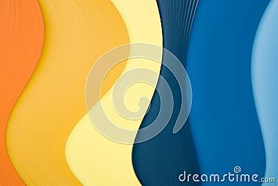 Decorative wavy background