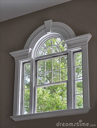 Free Decorative Window Royalty Free Stock Photo - 7474215
