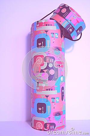 Decorative wine tube
