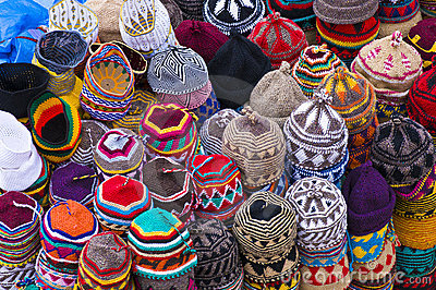 Decorative wool hats