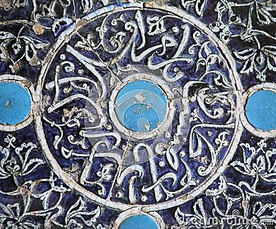Decorazione ceramica islamica fotografia stock immagine for Decorazione ceramica