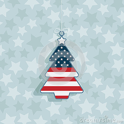 Decorazione di natale degli S.U.A.