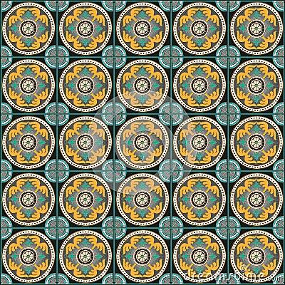 decorazione tradizionale romana della parete del mosaico