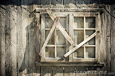 Decrepit window