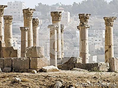 Decumanus, Jerash,