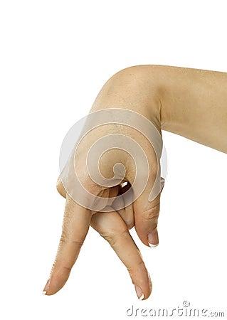 Dedos de passeio