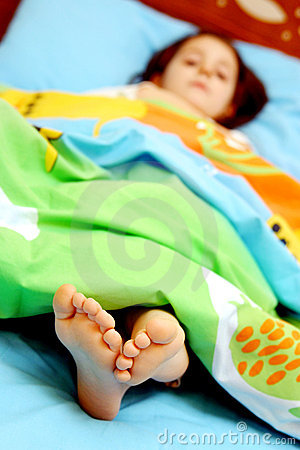 Dedos do pé sonolentos