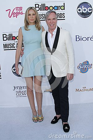 Dee Hilfiger, Tommy Hilfiger at the 2012 Billboard Music Awards Arrivals, MGM Grand, Las Vegas, NV 05-20-12 Editorial Image
