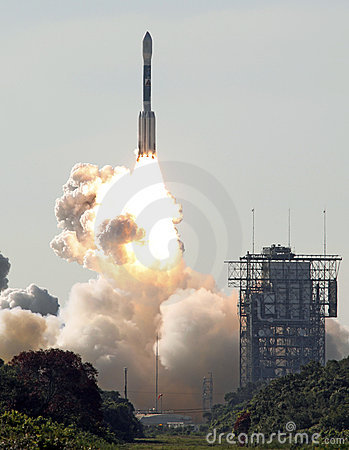 Deelta rocket launch Editorial Image