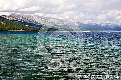 Deep Blue Waters of Khovsgol Lake
