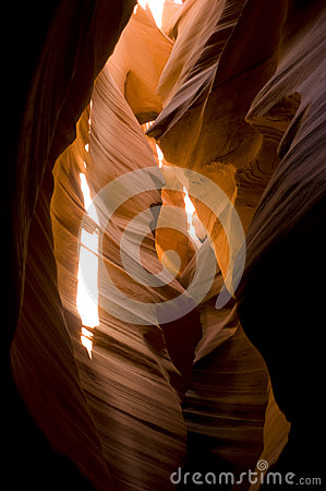 Sunlight Antelope Slot Canyon Desert Geology