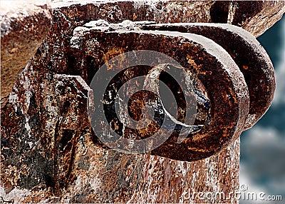 Deep corrosion