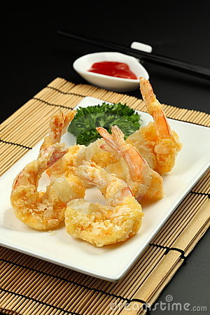 Deep Fried Prawn