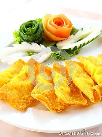 Deep Fried Wonton or dumpling