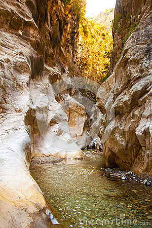 Free Deep Harmony Canyon In Turkey Stock Photo - 40372900