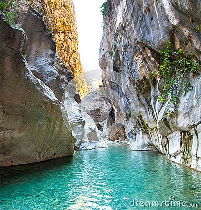 Free Deep Harmony Canyon In Turkey Royalty Free Stock Photography - 43084367