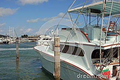 Deep Sea Fishing Boat at the Dock