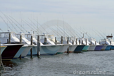 Deep sea fishing boats
