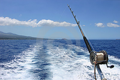Deep sea fishing in Maui Hawaii